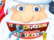 تنظيف اسنان بابا نويل